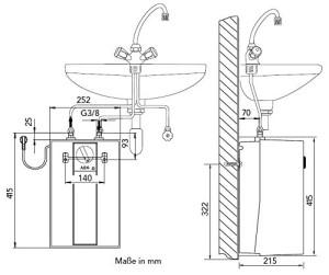 Warmwasserboiler installieren